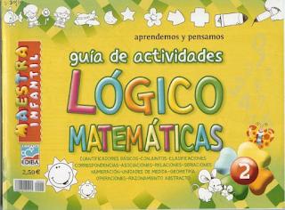 Guia de actividades Logico matematicas (infantil)