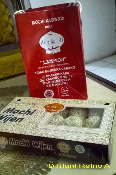 mochi kaswari oleh-oleh khas sukabumi