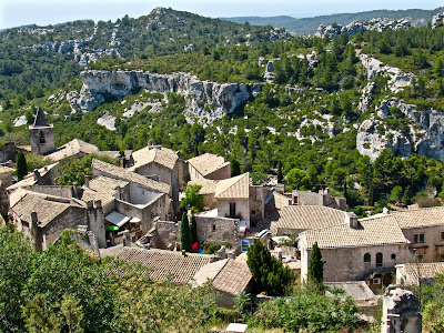 View of Les Baux de Provence