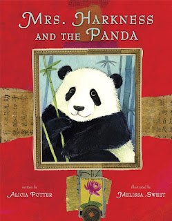 front cover of Mrs. Harkness and the Panda