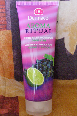 Dermacol - Aroma Ritual Stress Relief sprchový gél hrozno & limetka
