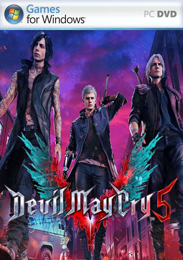 Devil May Cry 5 Deluxe Edition PC Cover
