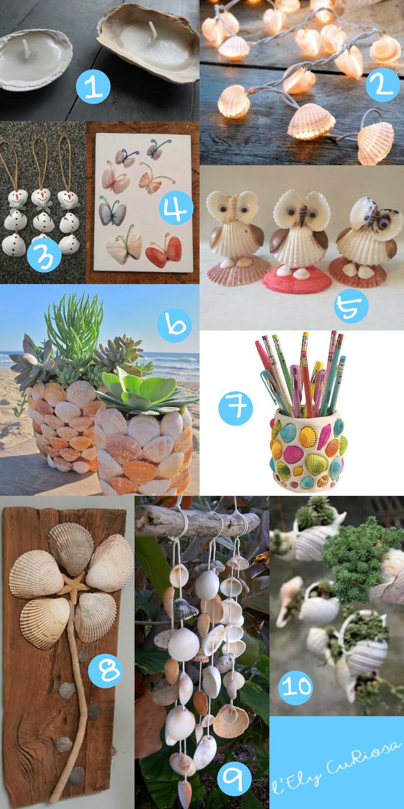 Populaire 10 idee da Pinterest // Cosa creare con le conchiglie - L'Ely curiosa KE75