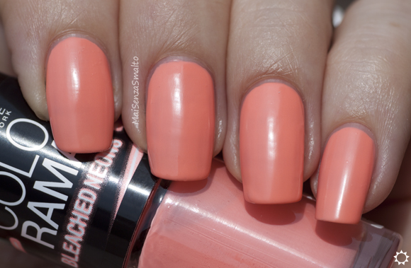 Maybelline Bleached Neons 242 Coral Heat