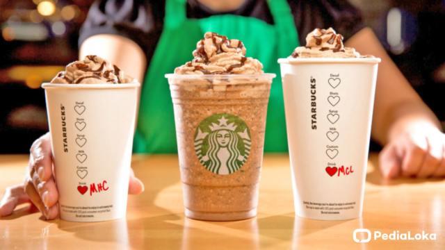 Harga Minuman di Starbucks