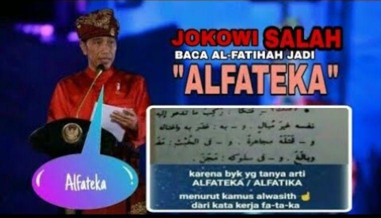 """Menjawab Soal Kesalahan Makna """"AL-FATEKA"""", Ternyata Artinya adalah..."""