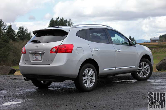 2012 Nissan Rogue SV - Subcompact Culture