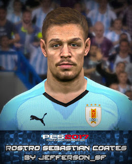 PES 2017 Faces Sebastian Coates by FaceEditor Jefferson_SF