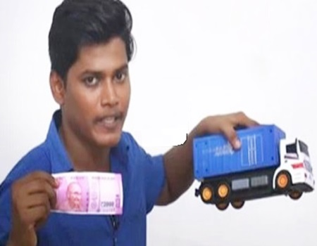 Magics in New 2000 RUPEE NOTE / Water Test / GPS Chip Test