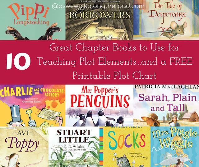 Kids' chapter books for teaching plot