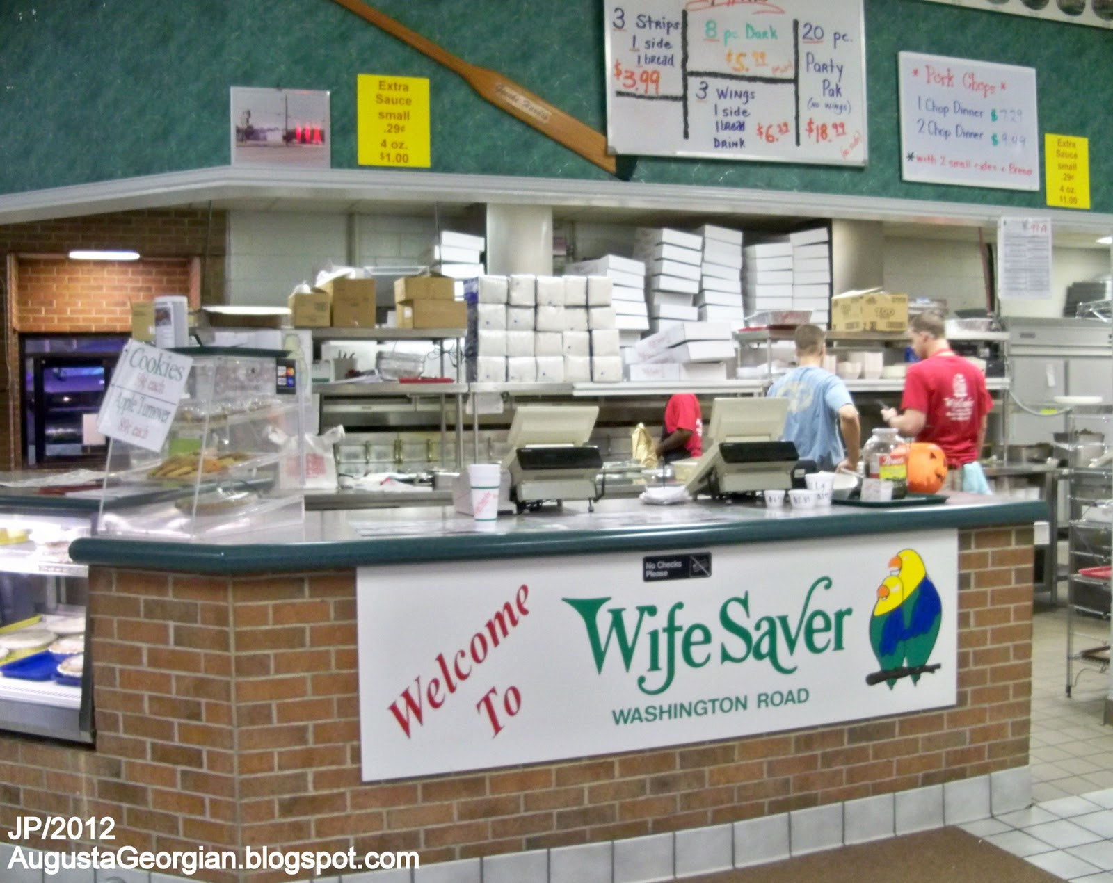 Wife Saver Augusta Georgia Washington Road Fast Food Restaurant En Seafood Richmond County Ga