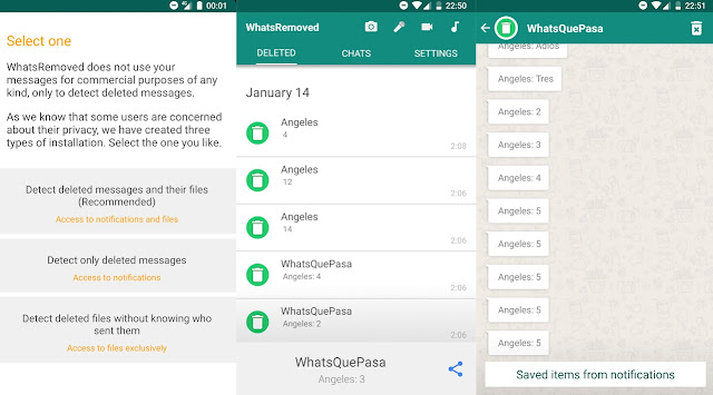 Buat Yang mau Baca Pesan yang Dihapus Pengirim Pesan WhatsApp  di Android Berikut Caranya