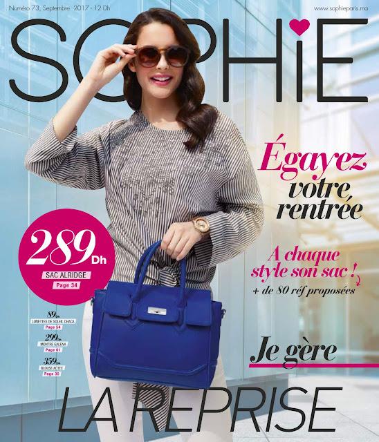 catalogue sophie paris maroc septembre 2017