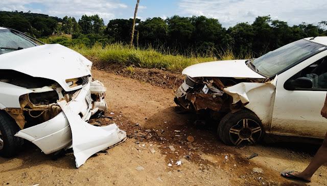 Grave acidente na estrada de Mato Rico a Roncador