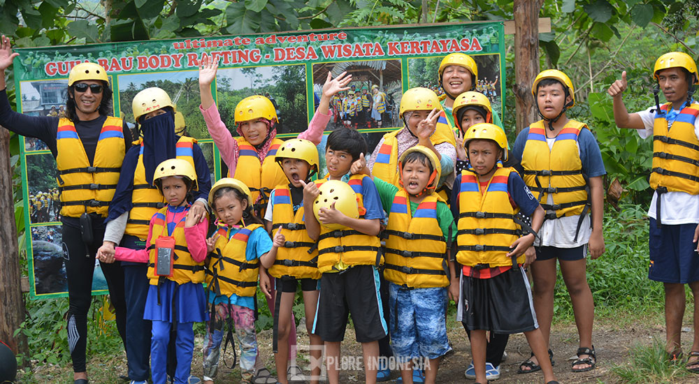 team body rafting green canyon