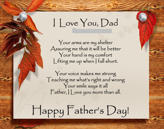 Fathers Day HD Images Quotes From Son & Daughter