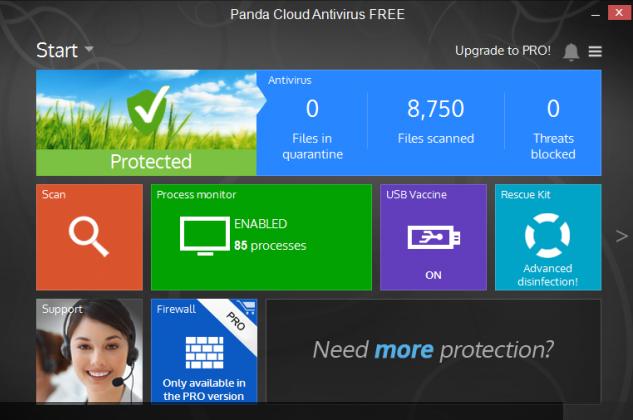 Panda Cloud vs Comodo Best Antivirus - Internet Security