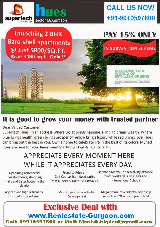 projects, Sell/Rent/Buy 2bhk on sohna road, new launch supertech on sohna road, supertech new launch gurgaon, supertech sec 68 gurgaon, supertech sohna road, supertech hues, hues new launch gurgaon, hues sector 68 gurgaon, supertech hues residential project gurgaon, hues by supertech sohna road gurgaon, hues supertech project, new launch supertech hues gurgaon