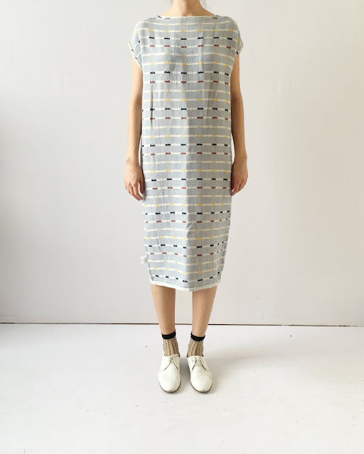 Ace & Jig Harbour Dress in Ivy