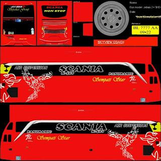Download Livery Bus Sempati Star