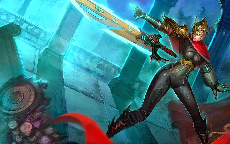 I Quit Wallpaper Hd Riven League Of Legends Wallpaper Riven Desktop Wallpaper