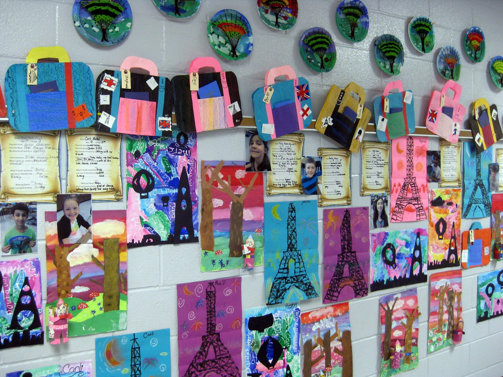 Cassie stephens art projects for fourth graders for Art craft shows