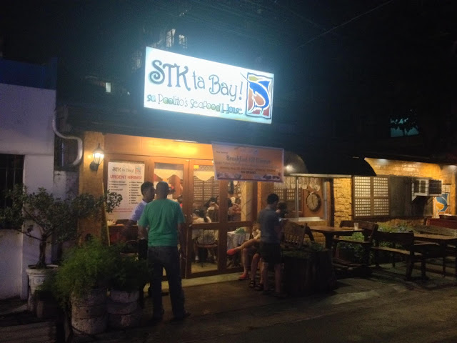 STK ta Bay Restaurant in Cebu City