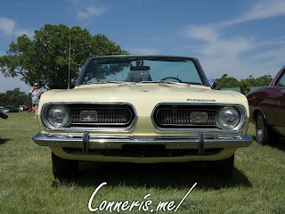 1968 Plymouth Barracuda Front