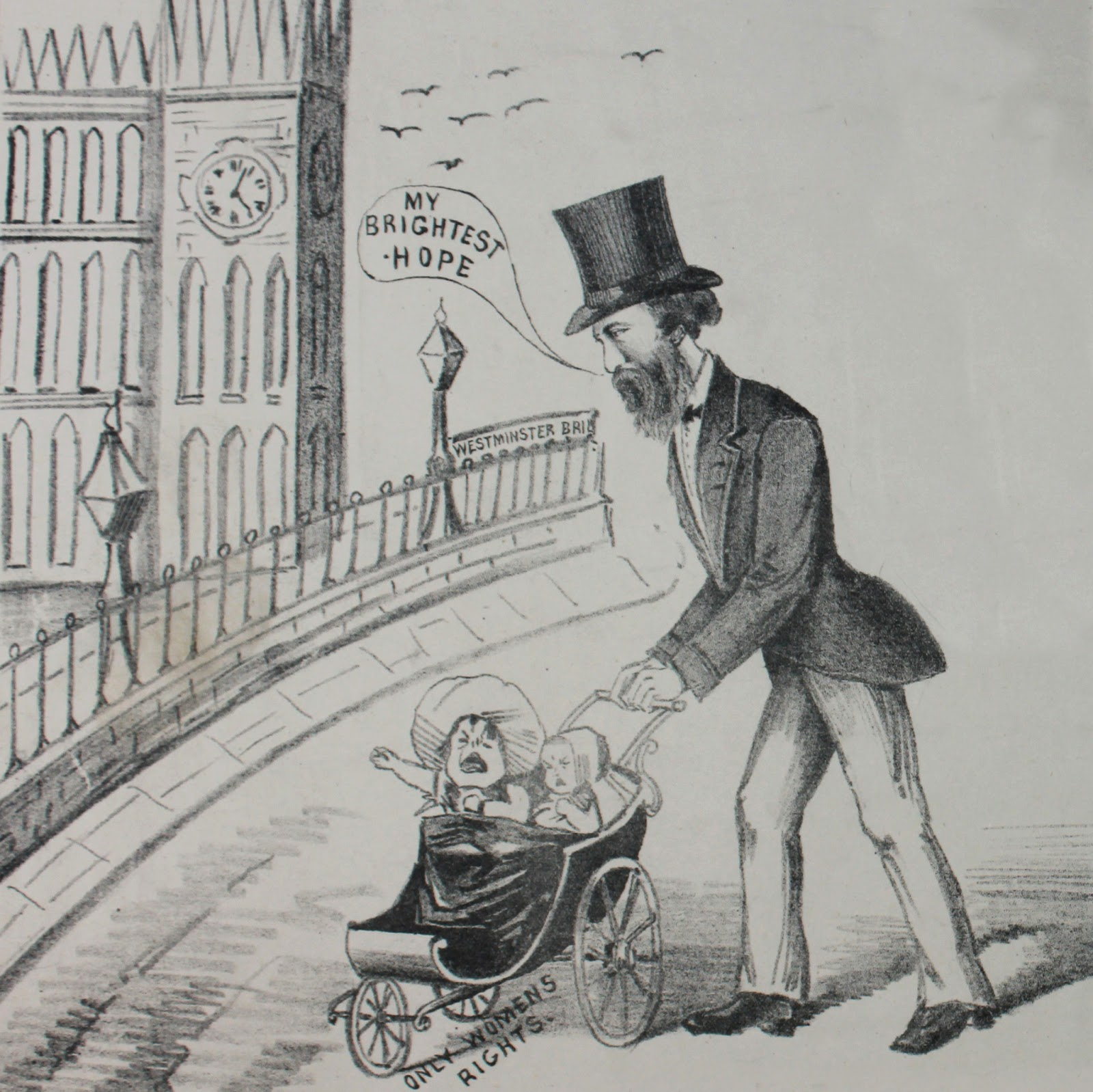 My Favorite Dads From Anti Suffrage Cartoons And Postcards