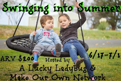 Enter the Swinging into Summer Giveaway. Ends 7/1
