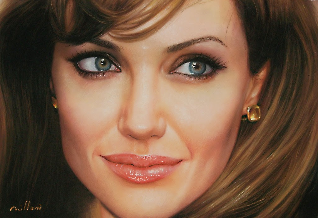 09-Angelina-Jolie-Fabiano-Milani-Paintings-that-Look-Hyper-Real-www-designstack-co