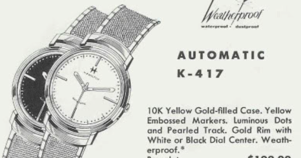 Vintage Hamilton Watch Restoration: 1960 Automatic K-417