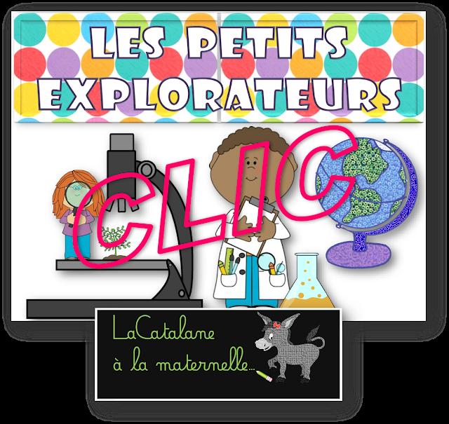 """Coins de la classe - variante """"Les petits explorateurs"""" (LaCatalane)"""
