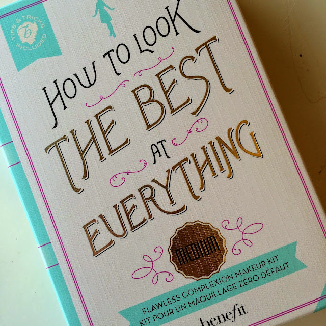Benefit How To Look The Best At Everything Flawless Complexion Kit Review