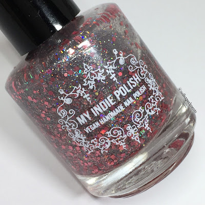 my indie polish rhodonite swatches january 2018 polish pickup