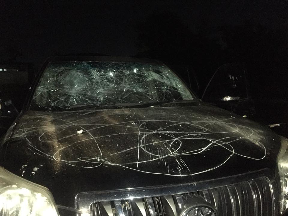 See What This Lady Did To Her Husband Expensive SUV After She Caught Him Doing This (Photos)