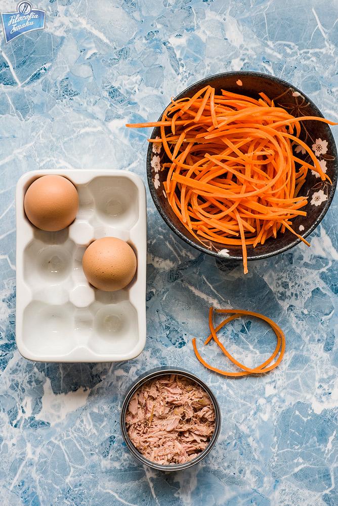 Marchewka smażona z jajkiem