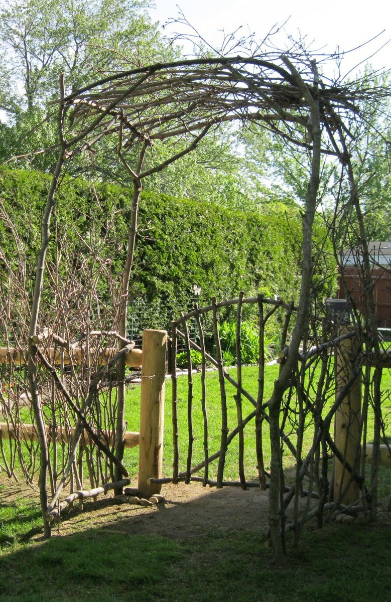 Rustic Stick Co Rustic Arbor 1