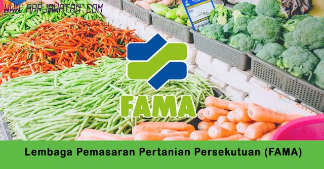 Jawatan Kosong di Lembaga Pemasaran Pertanian Persekutuan (FAMA).