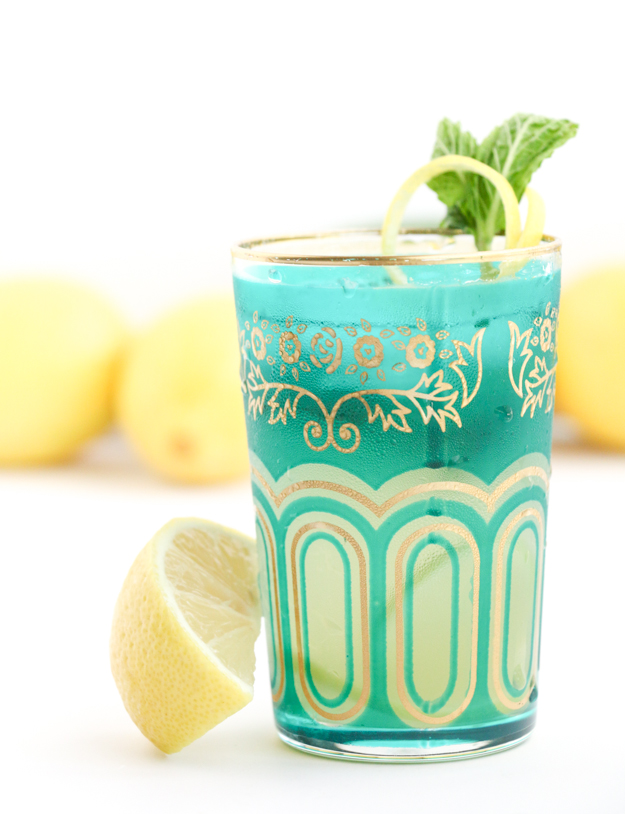 Get the recipe for this Moroccan Inspired Moscow Mule using Mint and Lemon for a peppery and herbacious flavor profile - Sponsored by World Market #worldmarkettribe #fallhomerefresh #sponsored