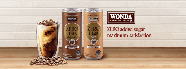 Wonda Coffee Zero Max Latte