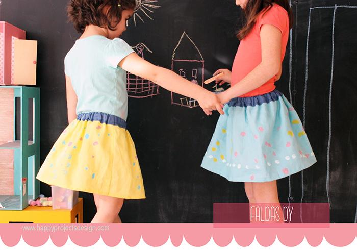 DIY: falda super fácil