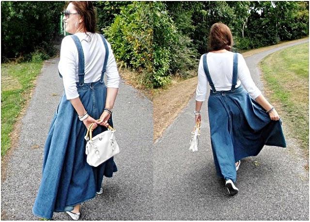 OOTD : Spódnica dzinsowa Levi's/ skirt jeans Levi's