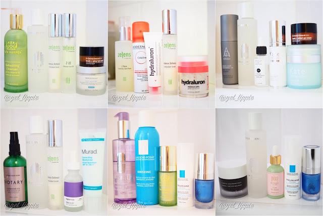 Skincare from Omorovicza, Votary, La Roche Posay, Murad, Tata Harper, Indeed Labs,