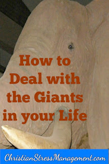 How to deal with giants in your life