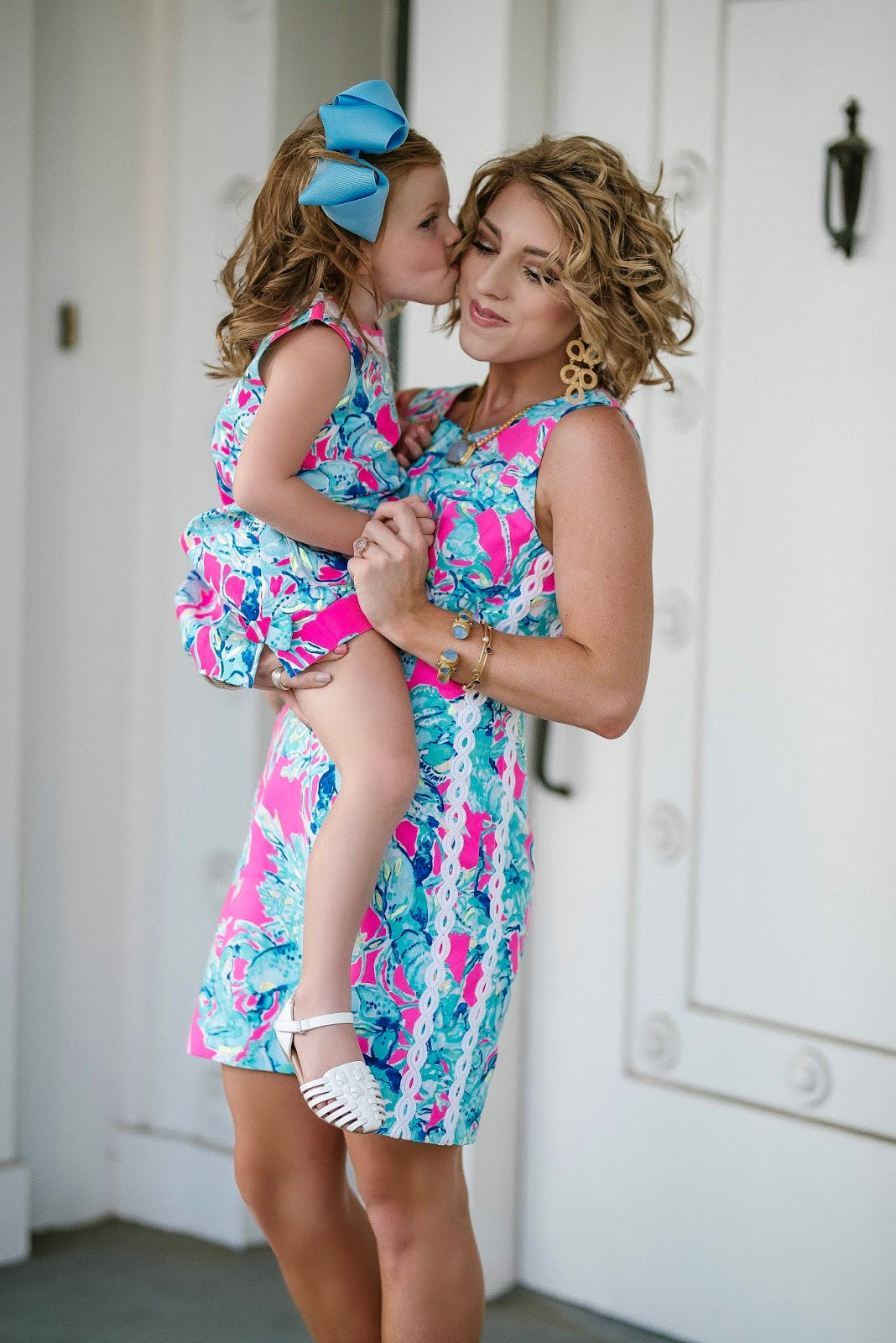 Mommy & Me Lilly Pulitzer Look, Tips & Tricks for shopping the Lilly Pulitzer After Party Sale & $100 Lilly Giveaway! - Something Delightful Blog