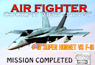 Best Beautiful Fighter F-18 Super Hornet VS F-16