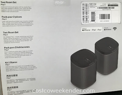 Sonos Play:1 Wifi Speakers: great for any home entertainment system