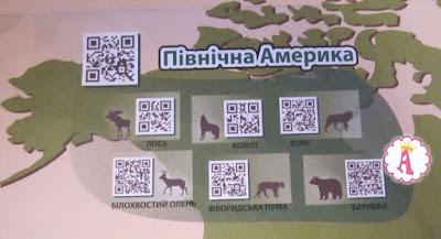 Интерактивная карта животных Венно - Северная Америка