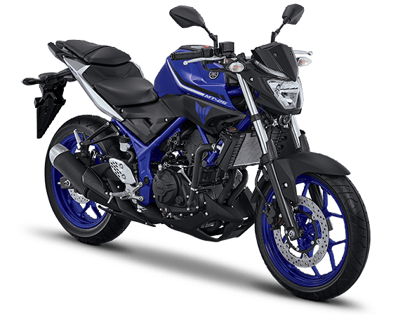 2017 Yamaha MT-25 Solid Blue
